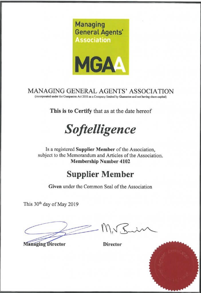 Softelligence is a Registered Supplier Member with MGAA since 2019