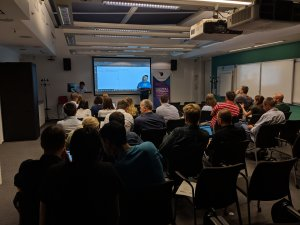 Bucharest AI Night, an event organised by Softelligence