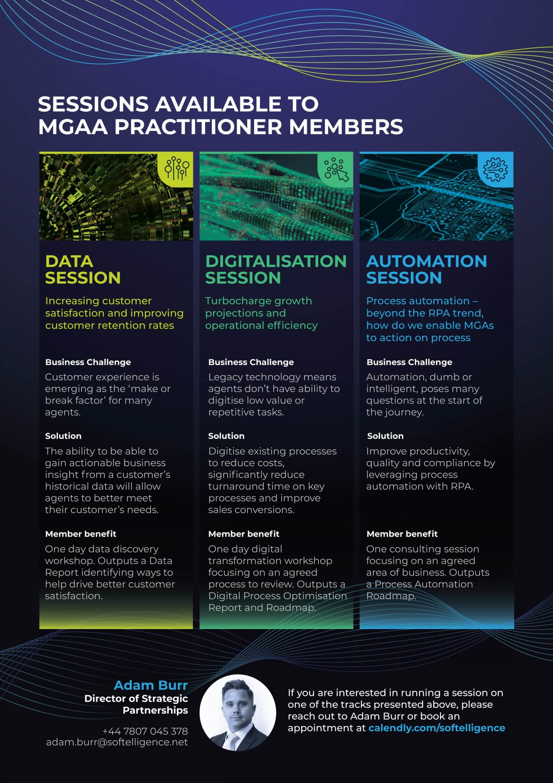 MGAA Complimentary Workshops